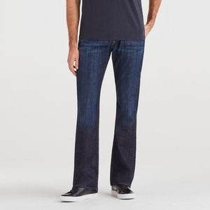 7 For All Mankind Brett Modern Bootcut Blue Jeans